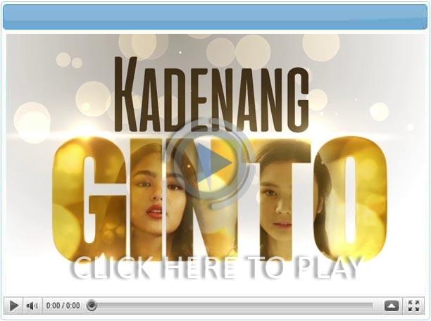 Kadenang Ginto - 11 September 2019  - Pinoy Show Biz  Your Online Pinoy Showbiz Portal