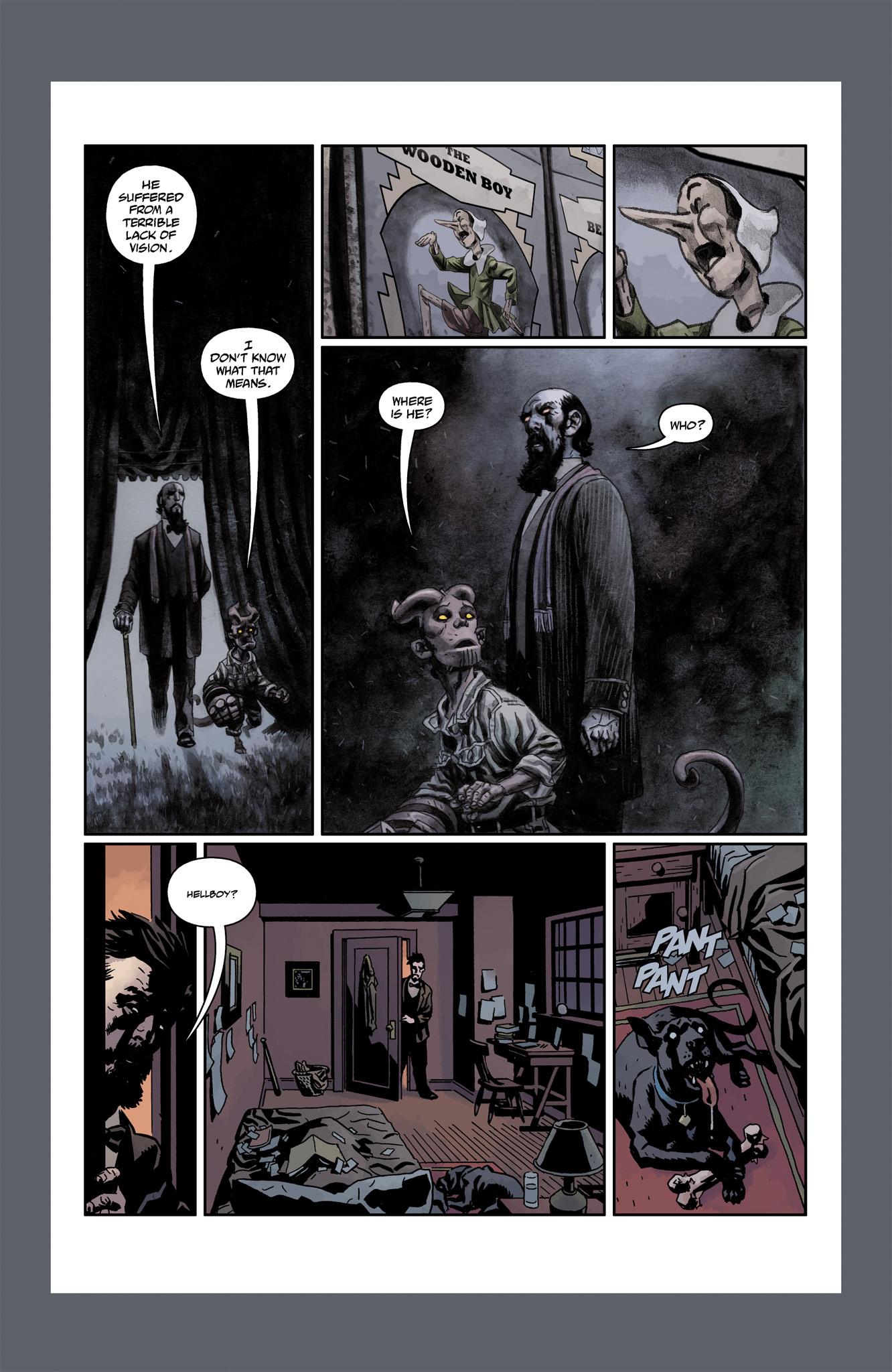 Read online Abe Sapien comic -  Issue #6 - 28