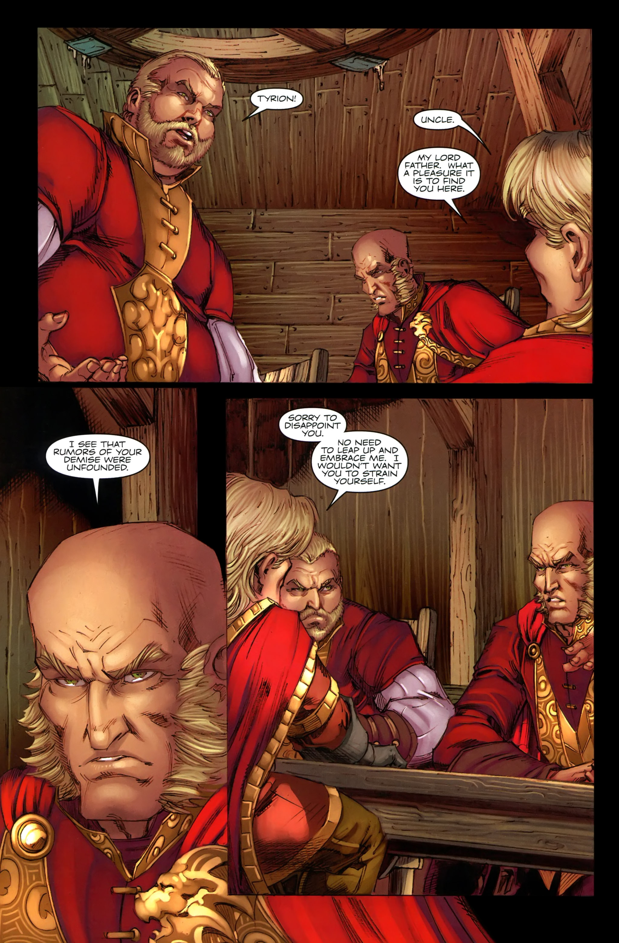 Read online A Game Of Thrones comic -  Issue #19 - 8