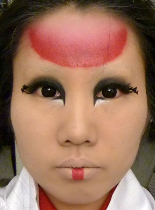aba96cffd0 ❤ The Makeup Piggy ❤: Halloween costume #2 for 2011 - Japanese red ...