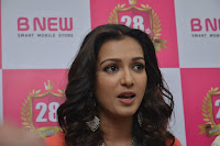Catherine Tresa in Orange Kurti top and Plazzo at Launches B New MobileStore at Kurnool 10.08.2017 018.JPG