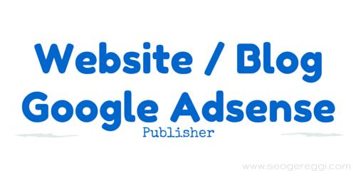 Sukses di Website Blog Google Adsense