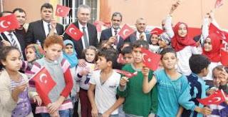 Ribuan Pengungsi Suriah Kembali Bersekolah