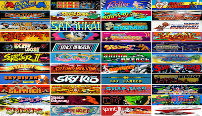 "The game collection ranges from early ""bronze-age"" videogames, with black and white screens and simple sounds, through to large-scale games containing digitized voices, images and music."