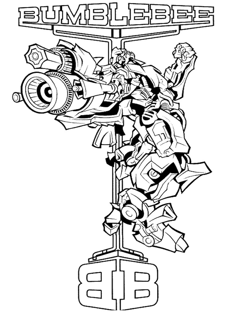 Transformers Coloring Pages | Realistic Coloring Pages