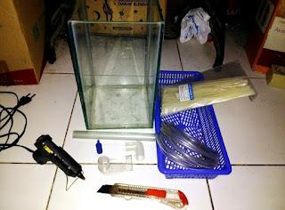 Cara Membuat Filter Aquarium dari Aerator