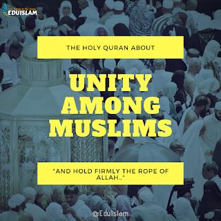 Unity in Muslim ummah in modern age