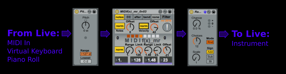 how to pitch shift voices in ableton live 9