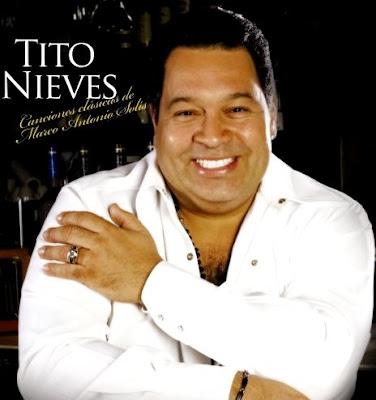 Foto de Tito Nieves en portada de disco
