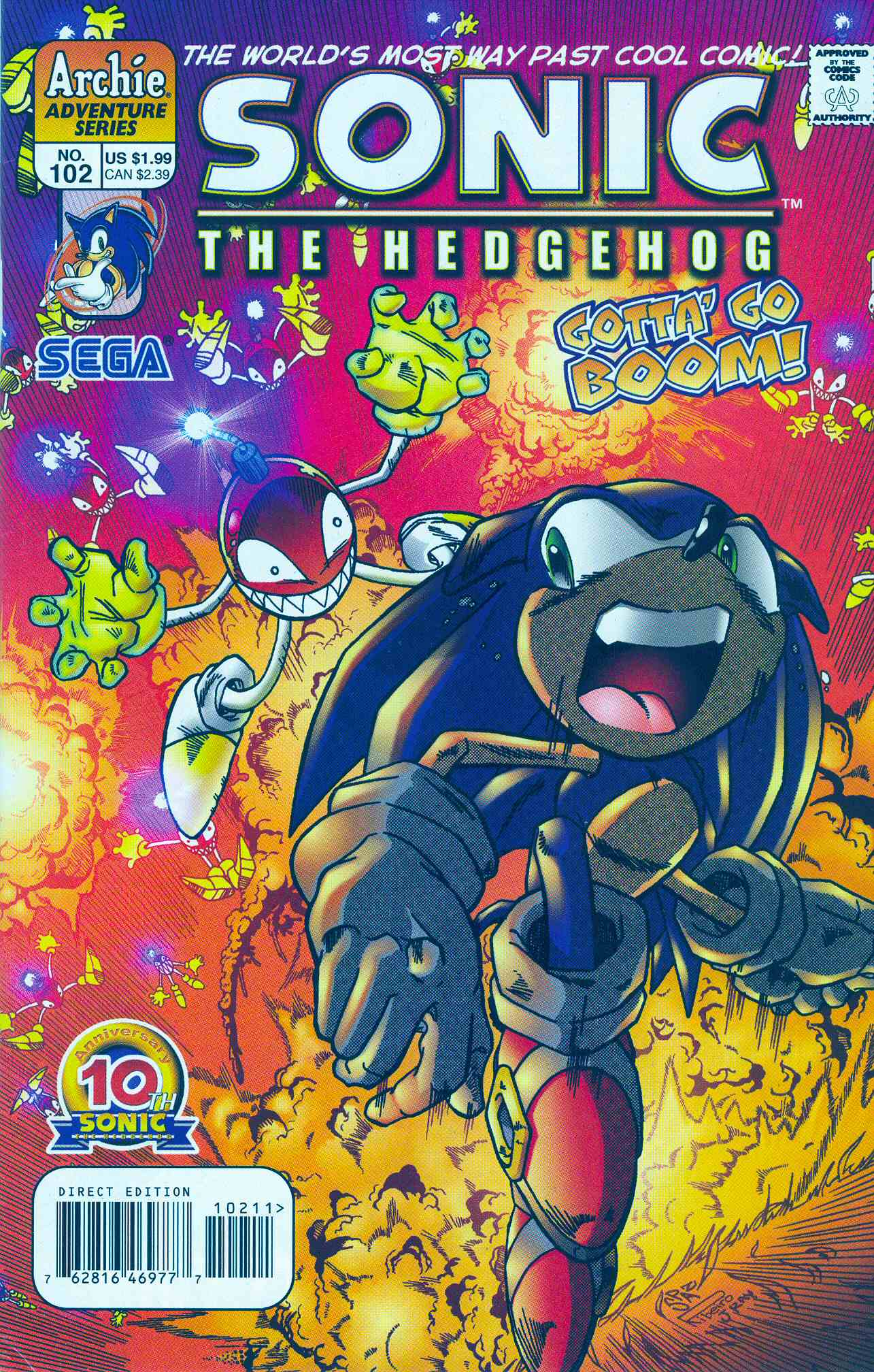 Sonic The Hedgehog (1993) 102 Page 1