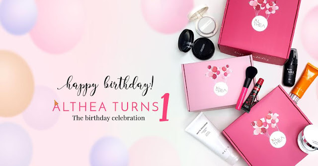 happy birthday althea korea, korean cosmetics,