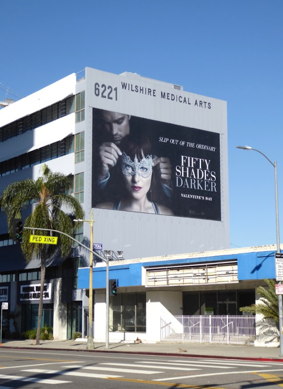 Giant Fifty Shades Darker billboard