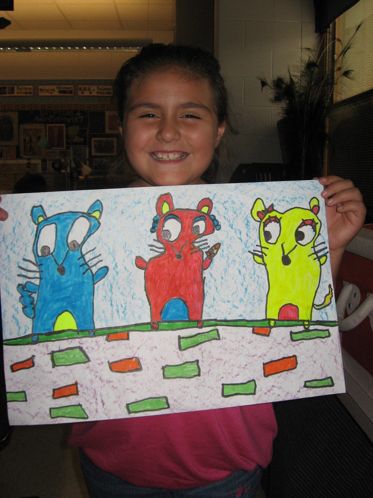 Jamestown Elementary Art Blog 1st Graders Learn About Primary Colors
