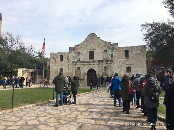 The Alamo in San Antonio Missions National Historical Park in San Antonio, Texas