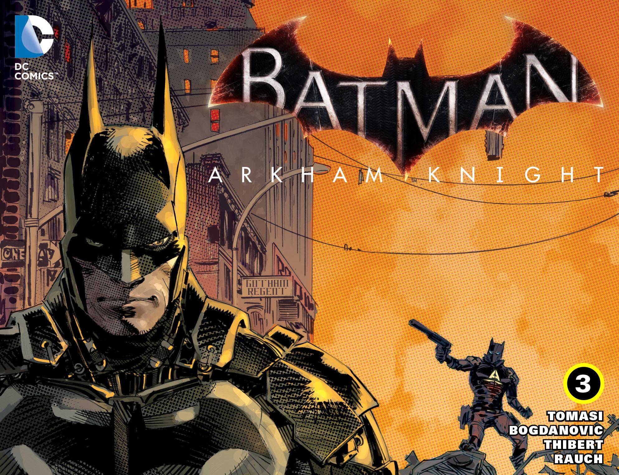 Batman: Arkham Knight [I] 3 Page 1
