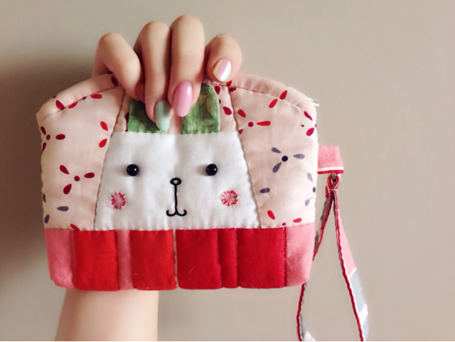 "Small Handbag Patchwork ""Bunny"""