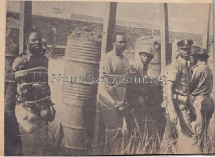 Nigerian Soldiers That Were Sentenced To Death For Overtgrown Head Of State