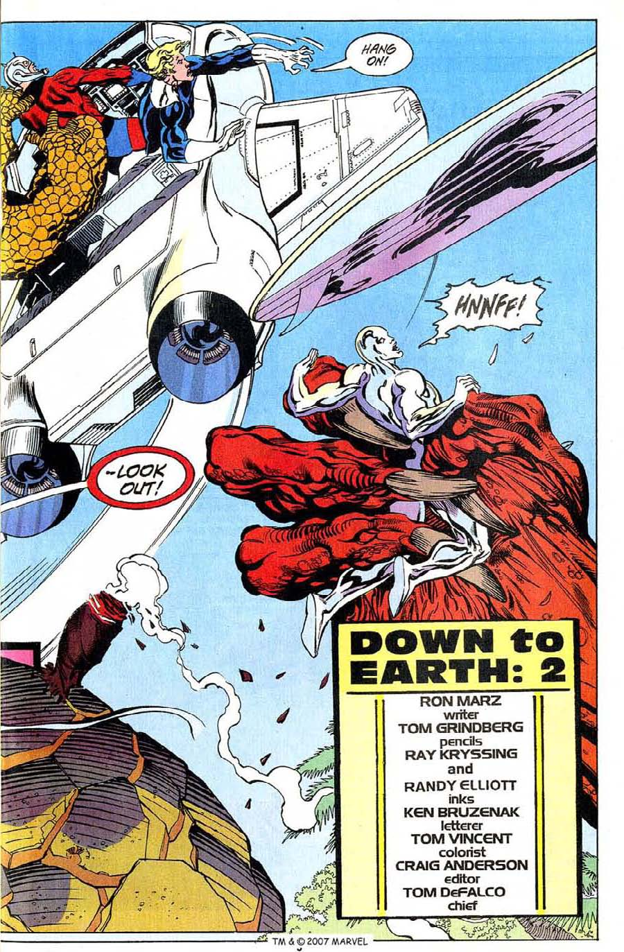 Read online Silver Surfer (1987) comic -  Issue #94 - 5