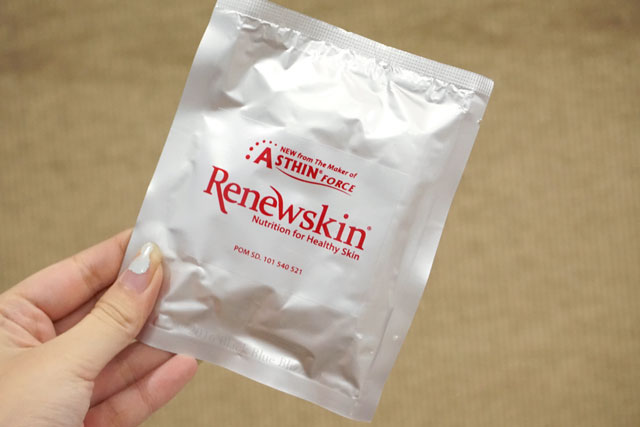 renewskin skin supplement, renewskin untuk anti-aging, renewskin indonesia, renewskin soho, renewskin jerawat, renewskin review,