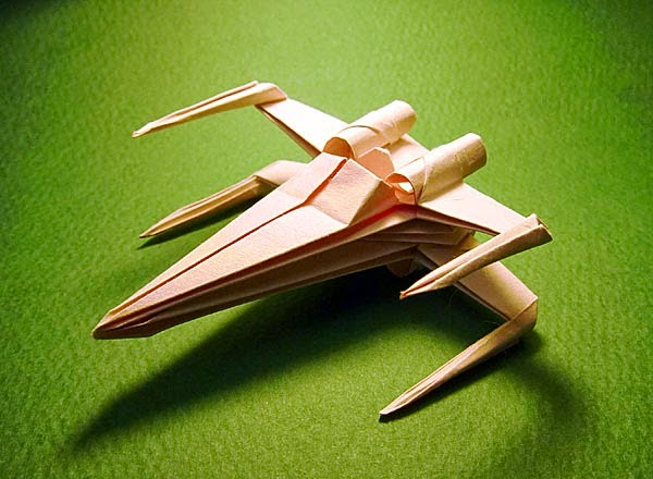 Free Image Host Art And Craft Origami X Wing