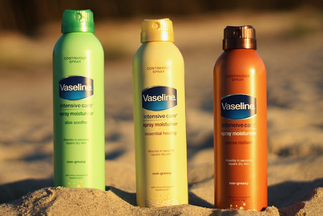 Vaseline, Intensive Care, balsam do ciała w spray'u