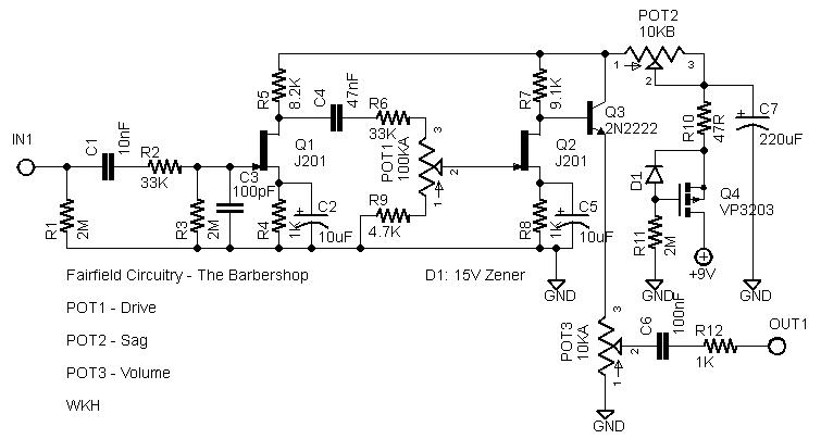 fairfield circuitry