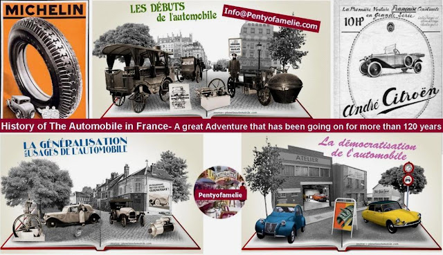 History of The Automobile in France. A great Adventure that has been going on for more than 120 years