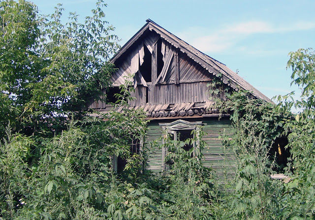 г. Самара, пос. Радиоцентр, заброшенный дом