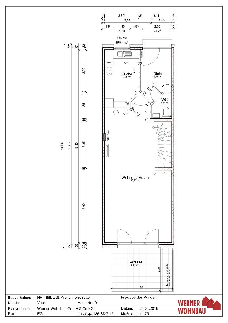 Öjendorf AH79 Haus 9: Informationen zum Haus