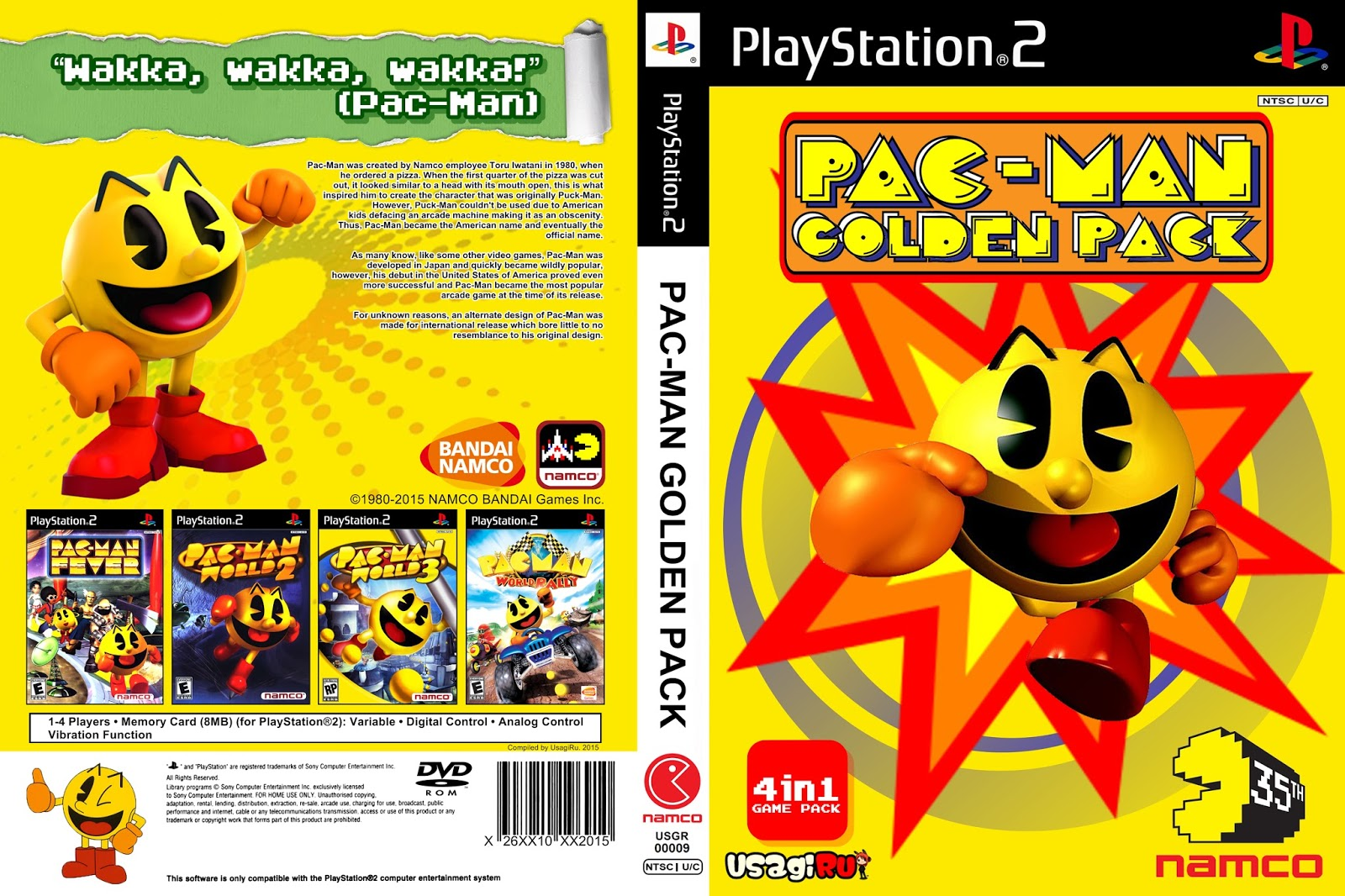 Pac Man Golden Pack No Playstation 2 Blog Do Ruivo