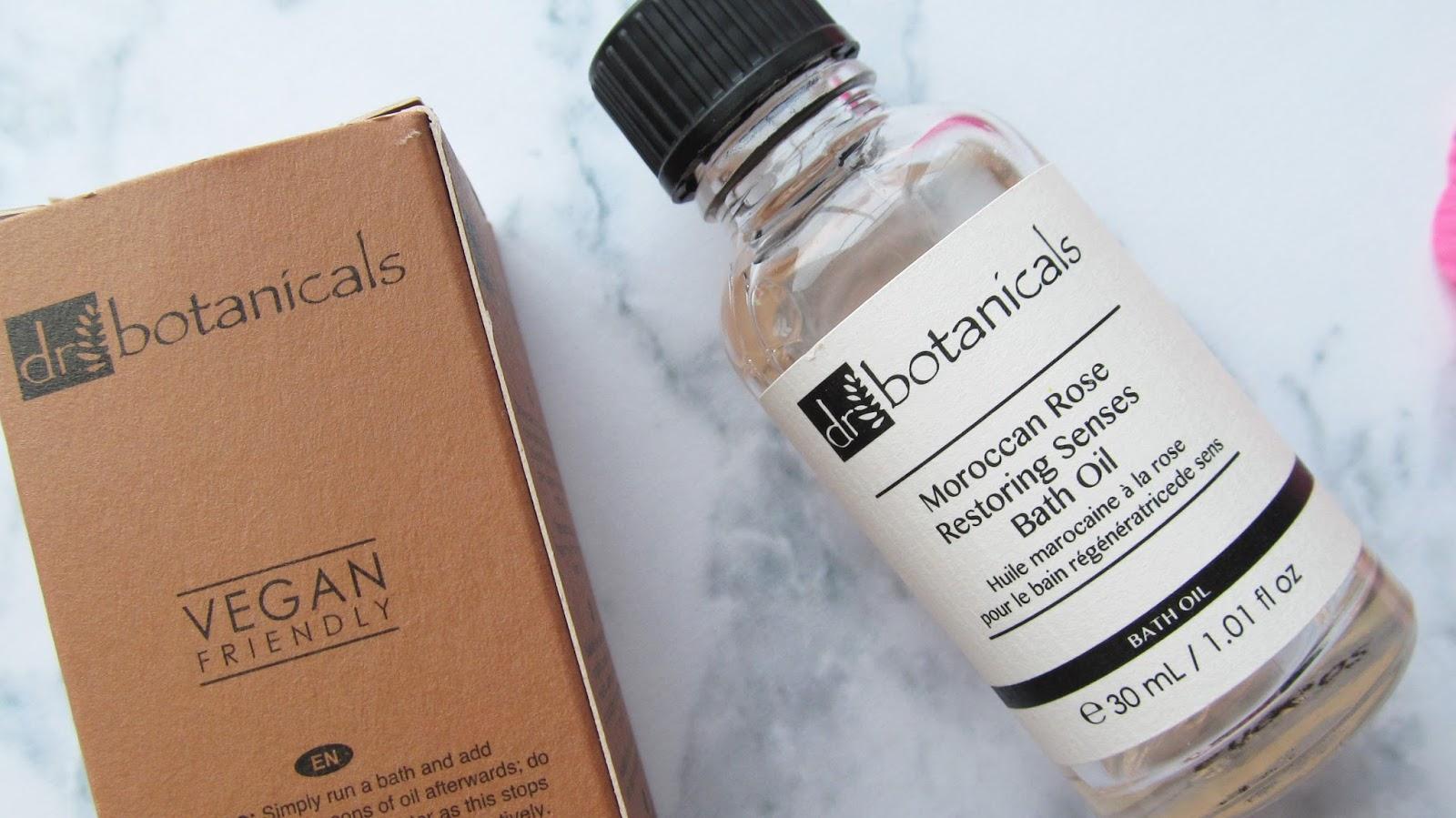 dr botanicals bath oil