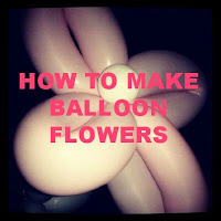how to make balloon flowers image
