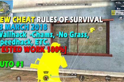 Cheat Rules of Survival Leusin 8.0 Update 13 maret 2018 !