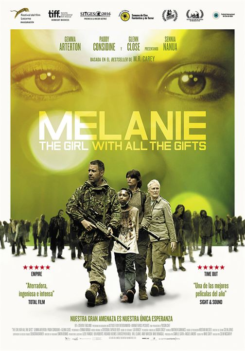 ver Melanie. The girl with all the gifts 2017