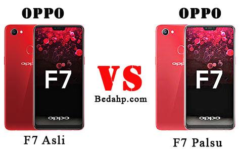 Cara Membedakan Oppo F7 Asli dan Palsu (KW)