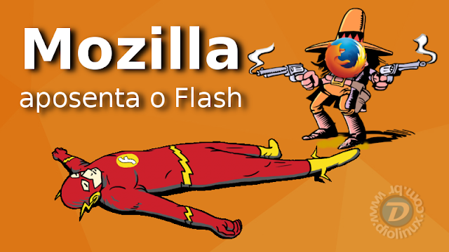 Mozilla Firefox abandona o Flash