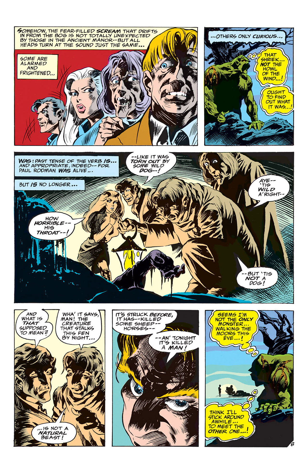 Swamp Thing (1972) Issue #4 #4 - English 9