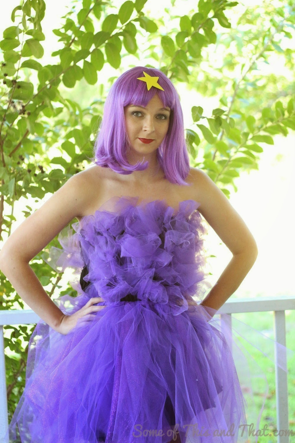 Lumpy Space Princess Costume by Some of This and That