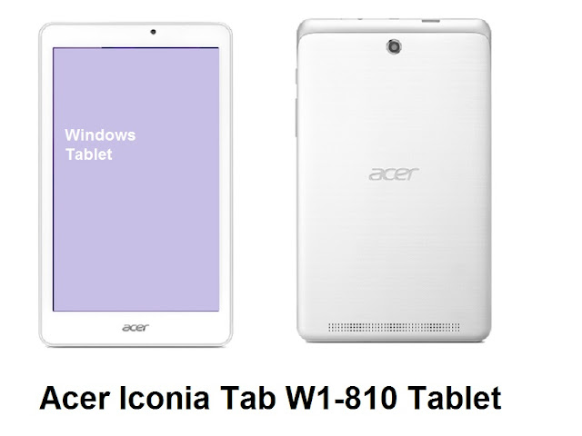 Acer Iconia Tab W1-810 Tablet review