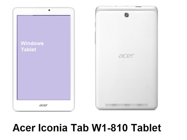 Acer Iconia Tab W1-810 Tablet