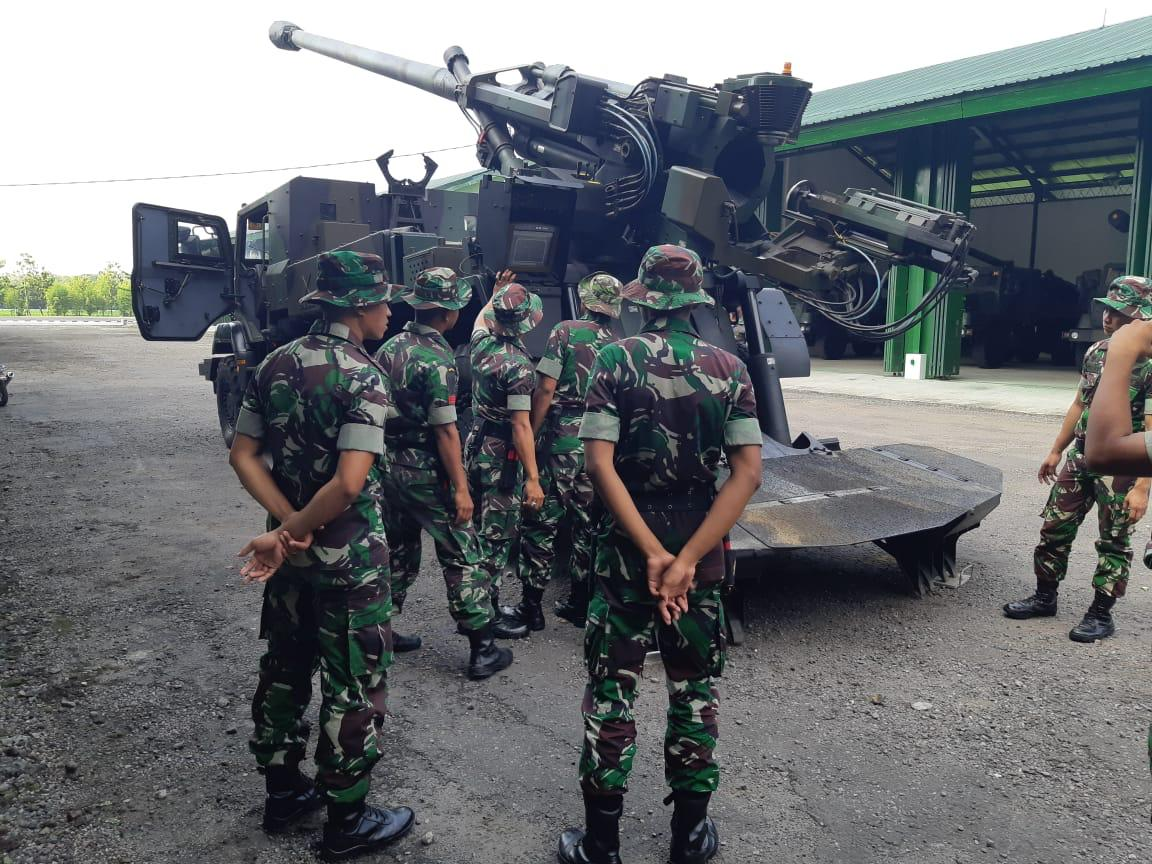 Prajurit Armed Ngawi Gelar Latorjab Lintas Rakyat Ntb