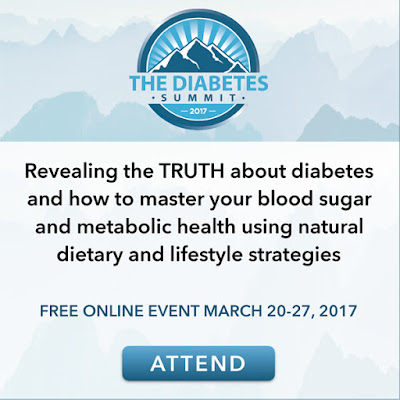 Free Online Diabetes Summit 2017 - March 20 - 27, 2017