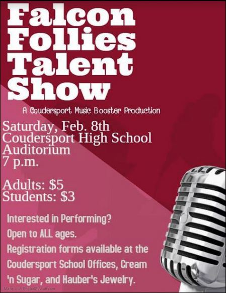 2-8 Falcon Follies Talent Show, Coudersport, PA