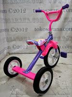 Sepeda Roda Tiga BMX Arava - Purple