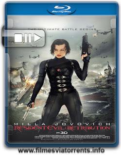 Torrent Resident Evil 5: Retribuição (2012)