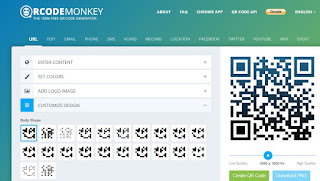 QRCode Monkey escape game CM2