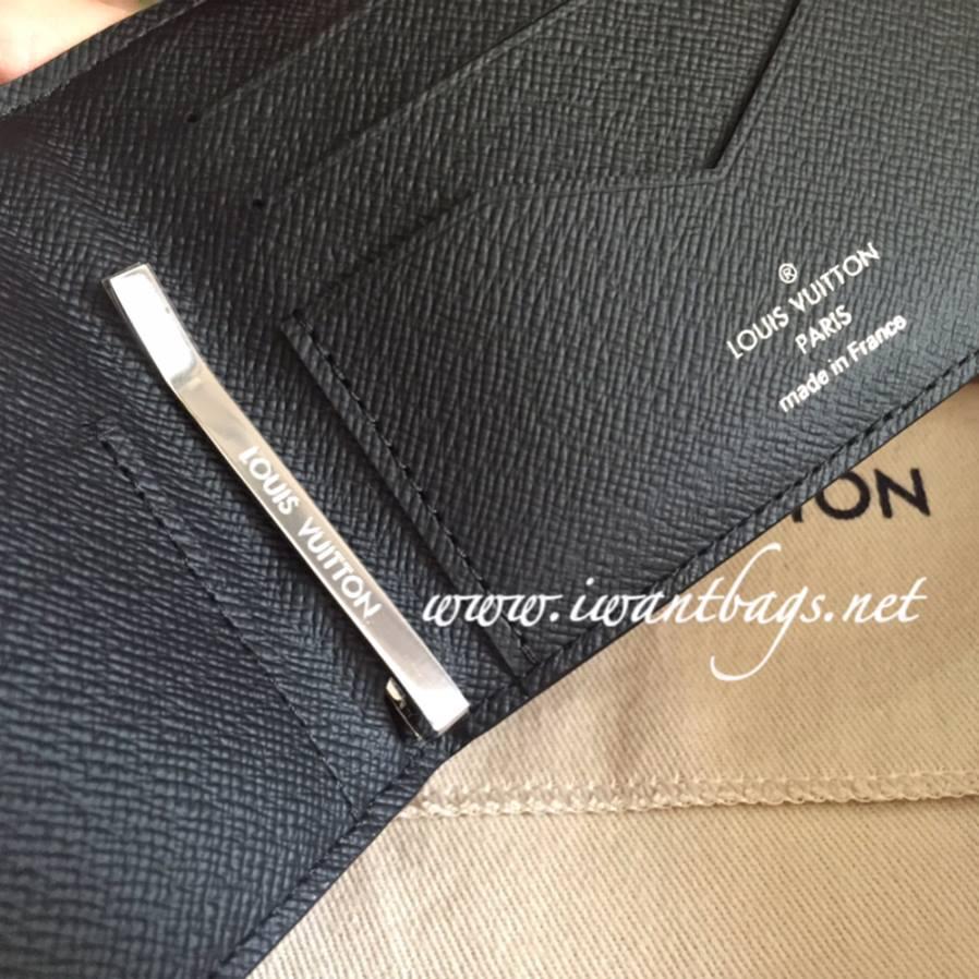 6bd49c18fd4a Louis Vuitton Pince Wallet in Damier Graphite