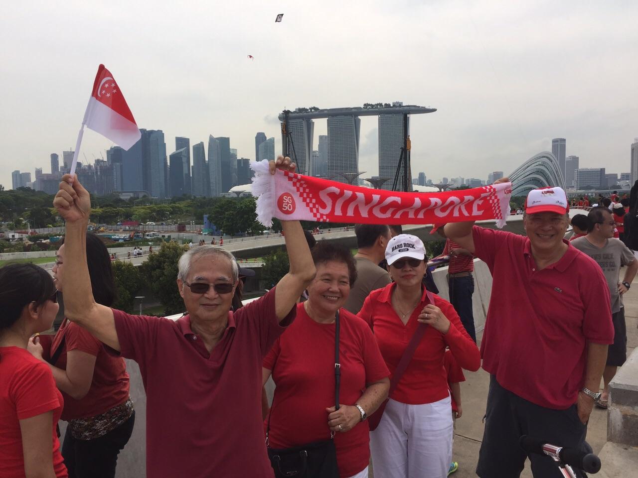 MonkeYing around: SG50 Family Picnic at Marina Barrage