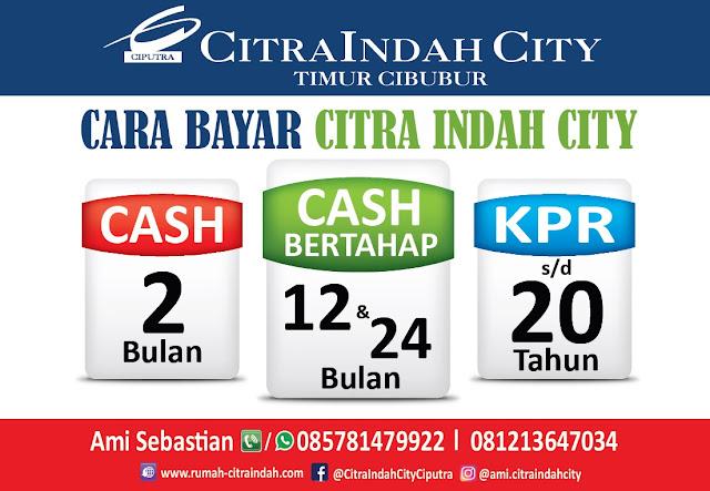 Cara Pembayaran Tunai dan KPR di Citra Indah City