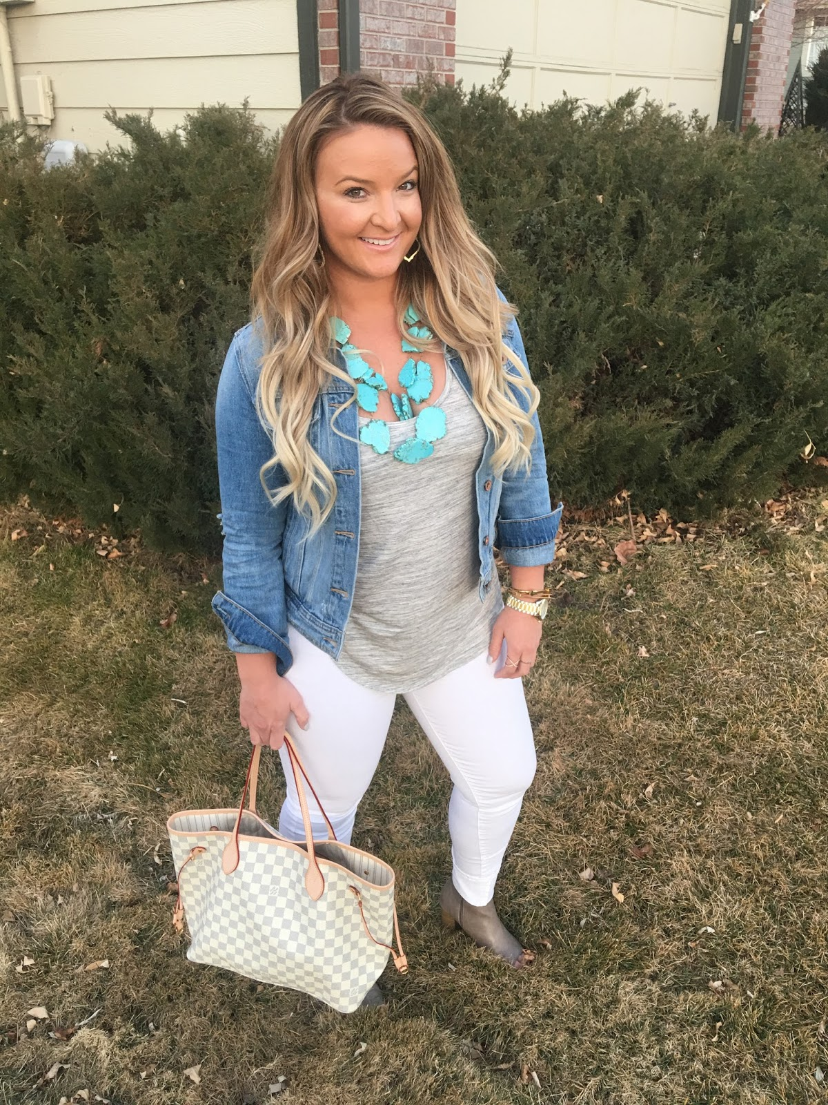 Turks & Winter White After Labor Day by Denver fashion blogger Delayna Denaye